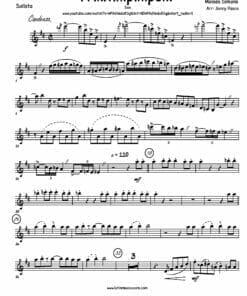 Preview de Priquitin Pin Pon para Big Band - Paquito D'Rivera - Saxofón Alto
