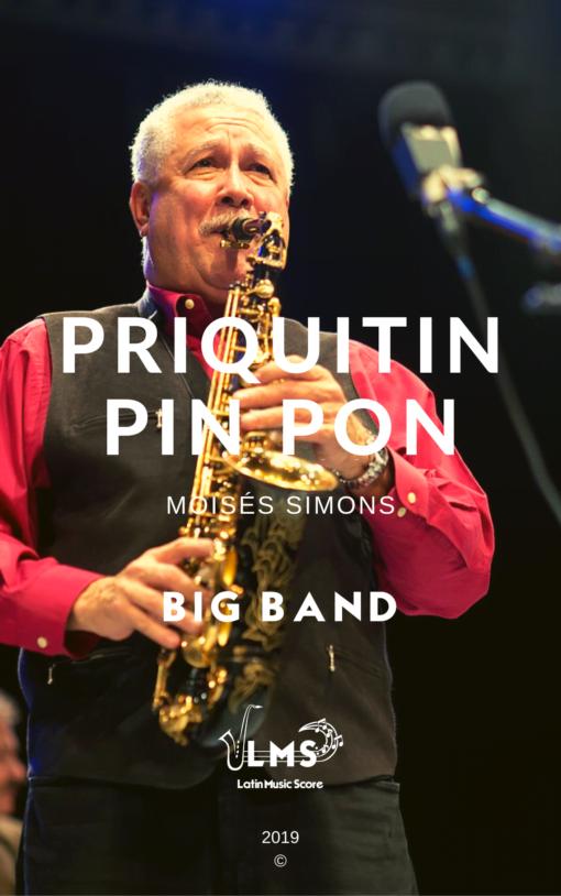 Priquitin Pin Pon para Big Band - Paquito D'Rivera