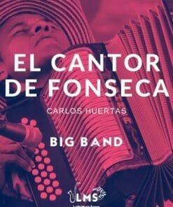 Portada de Partituras El Cantor de Fonseca Big Band PDF