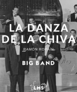Portada de Partituras de La Danza de la Chiva para Big Band en PDF