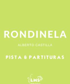 Portada de Rondinela Pista y Partituras en todas las Tonalidades para Múltiples Instrumentos